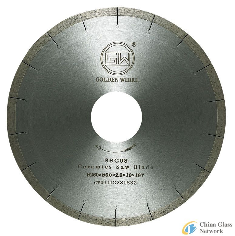 Welded Ceramic saw blade 300