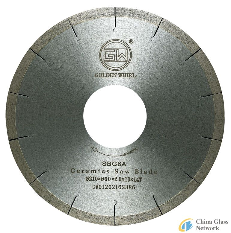Welded Ceramic saw blade 210