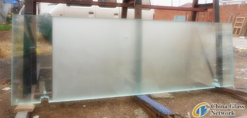 Gradient change glass with high quality