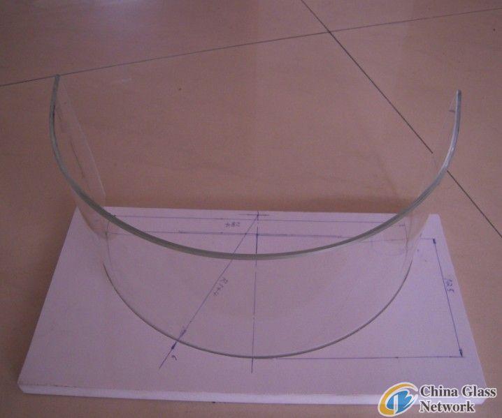 bending borosilicate glass
