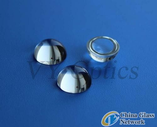 Optical half ball lens/hemispherical lens