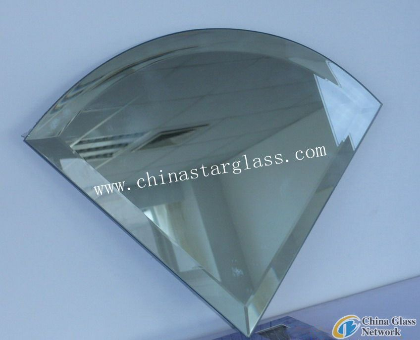 3mm Clear Float Bevelled silver mirror