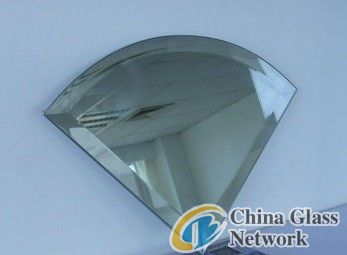 shapes of bevel glass with beveled edge