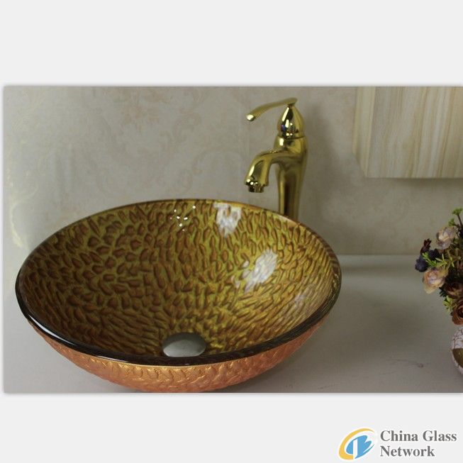 under-counter glass basin