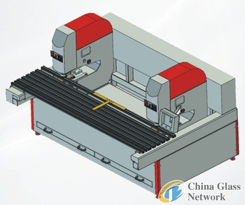 A2 automatic glass drilling machine
