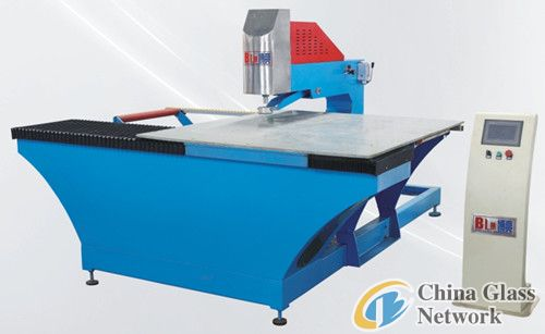 A4 CNC glass drilling machine