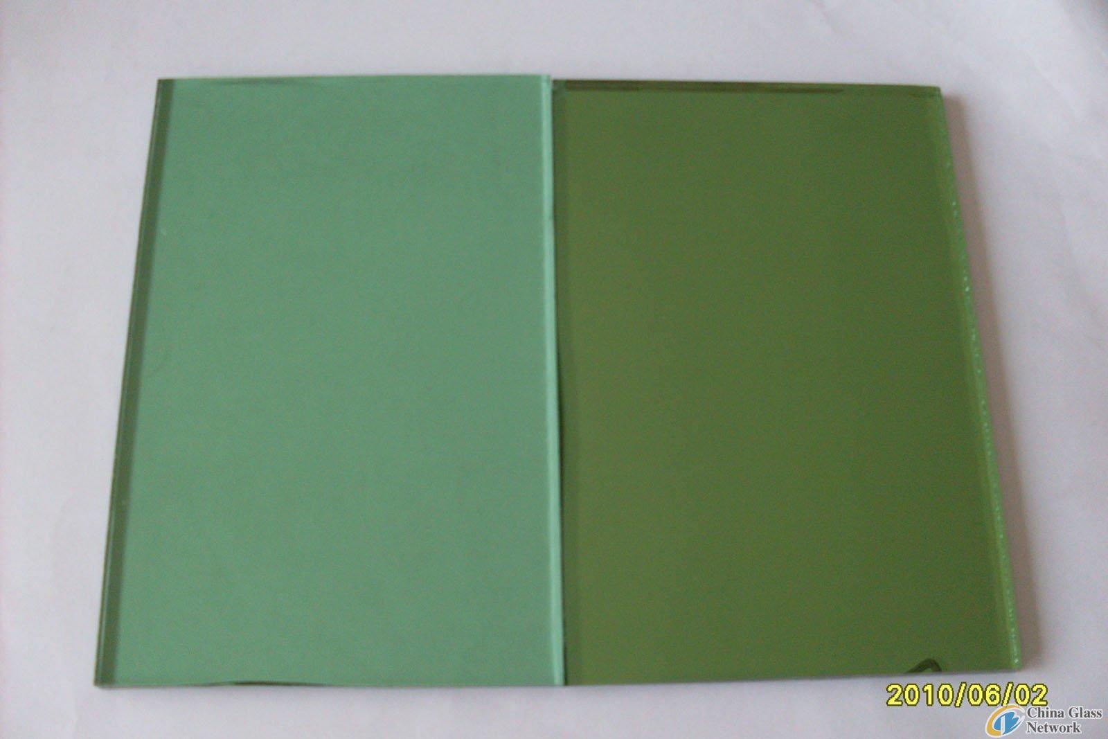 dark green glass