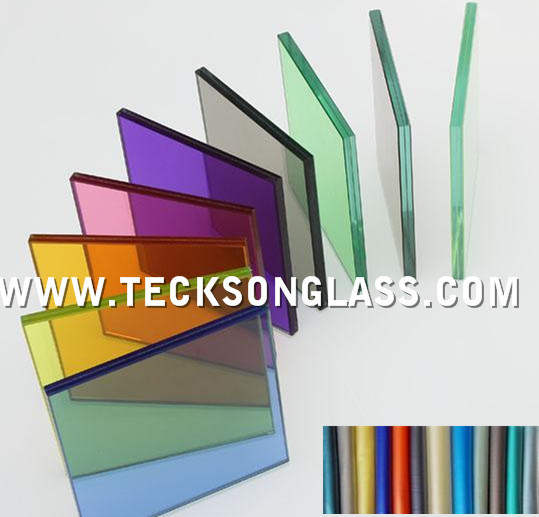 High Quality colored 4.38-12.76mm Laminated Glass