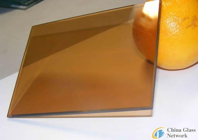 bronze/brown flat glass