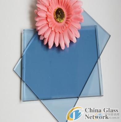ford blue/light blue flat glass