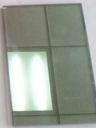 Light Blue reflective Glass