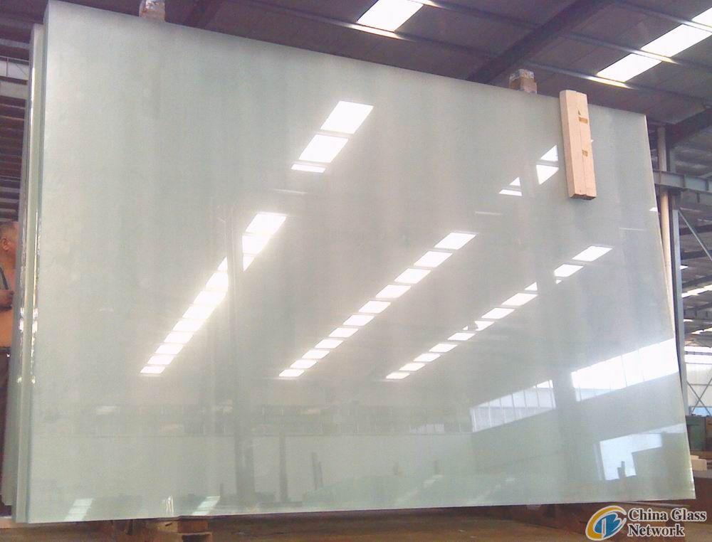 12mm ultra white glass