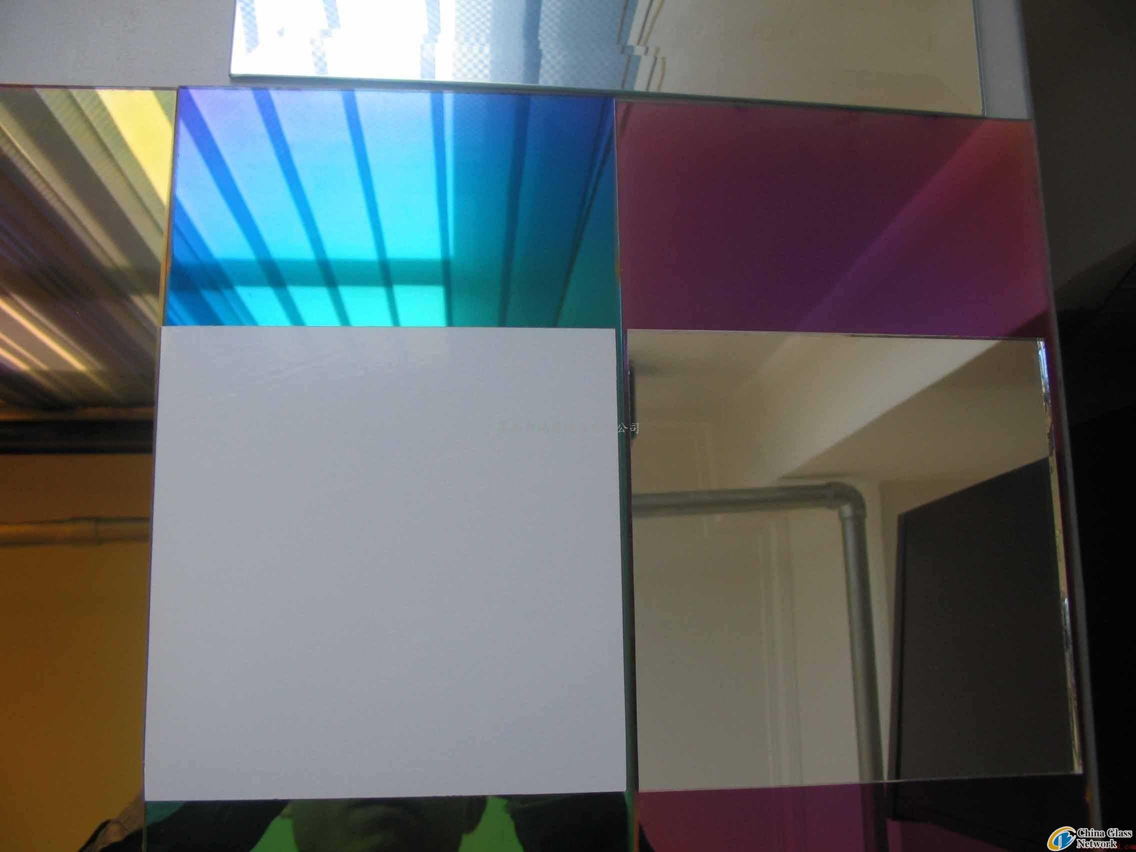 colorful aluminium mirror