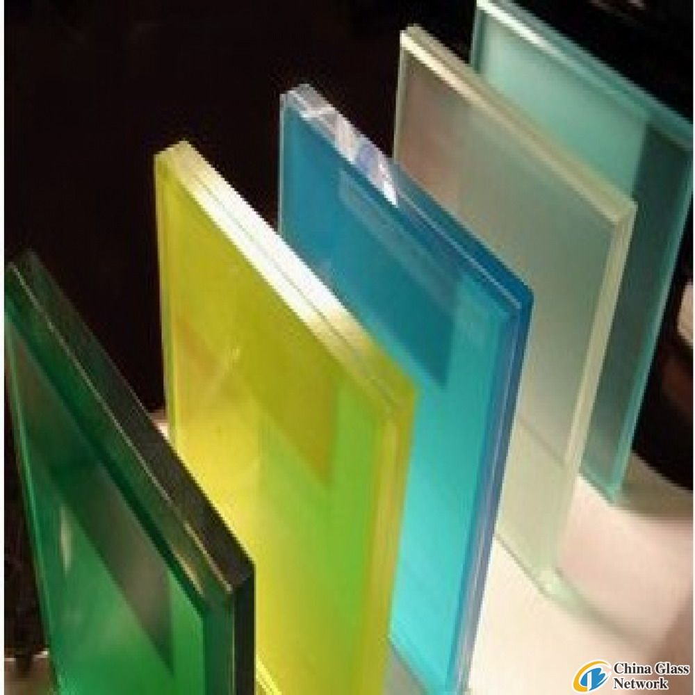 Clear/Blue/Grey/Bronze LAMINATED GLASS