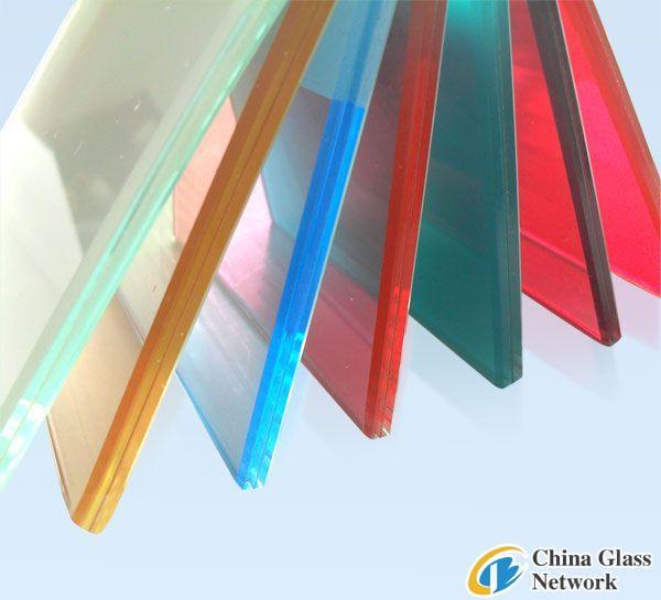 3-12mm laminated glass