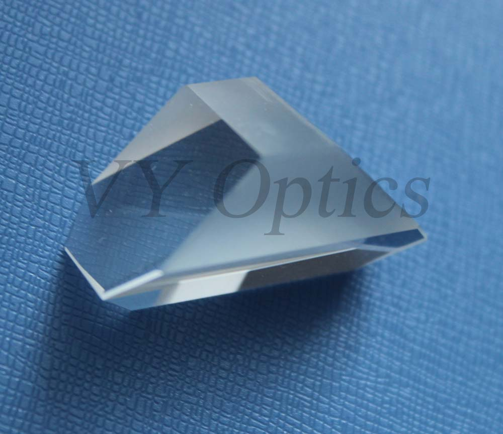 UV grade fused silica optical Amici-roof prism