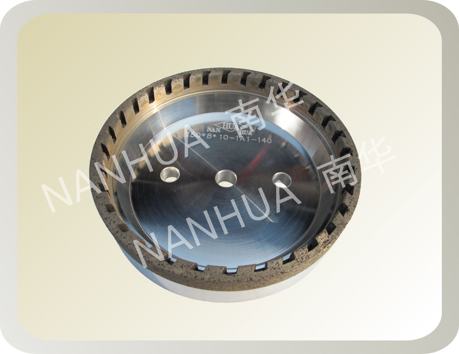 half segmented diamond wheel for glass processing