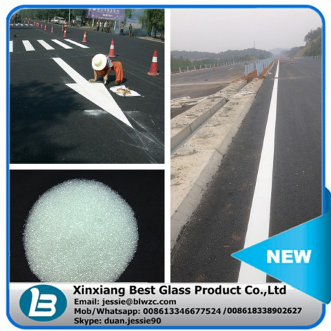 ce jis ks approved road marking glass beads drop on glass beads