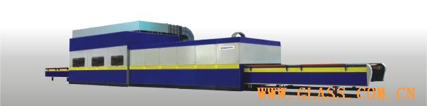 Vertical bending type glass bending and tempering furnaces (ZWG)