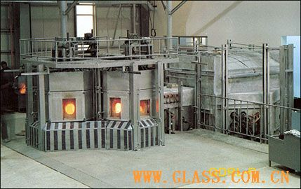 Soda-lime glass electric melting furnace