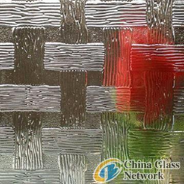 woven  pattern glass