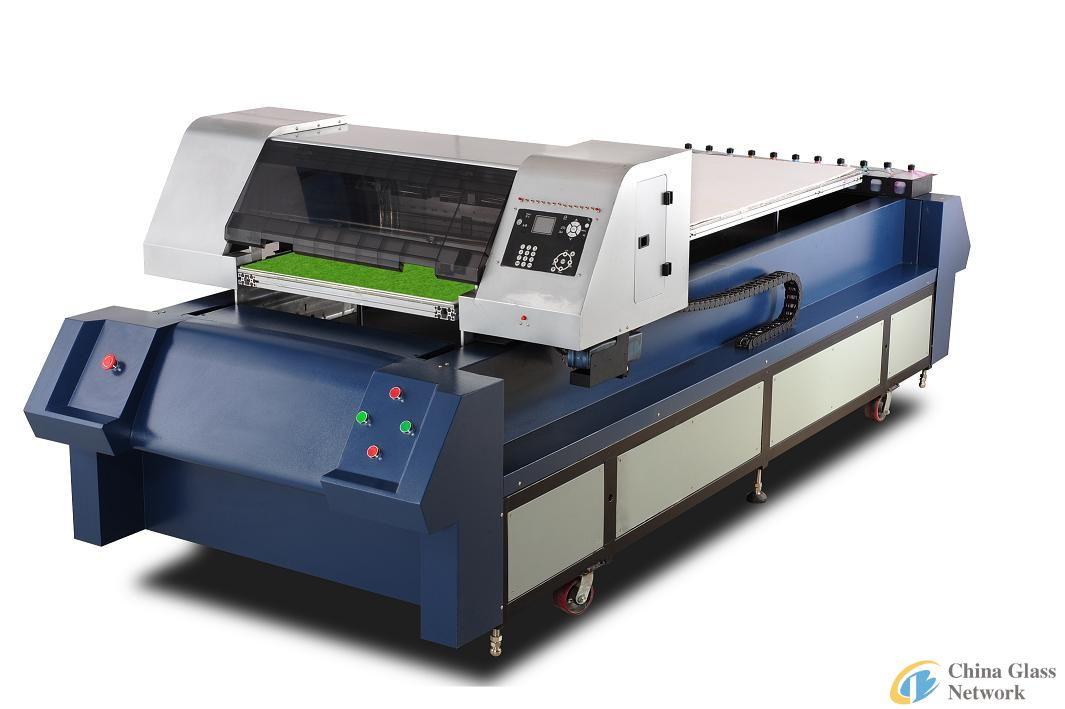 glass embossing machine, digital printer