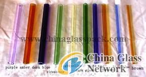 Color Borosilicate  Glass Tube and Rod
