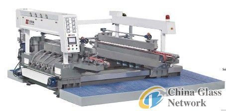 LCY1608 Straight-line double rounded edging glass machine