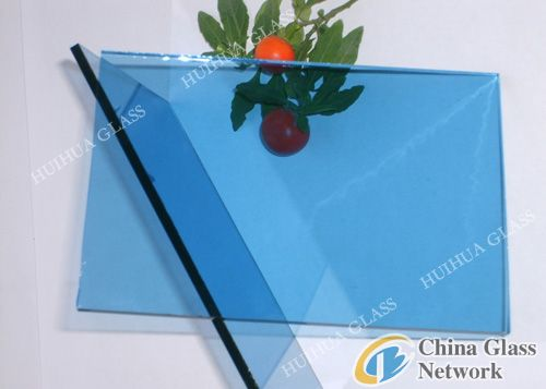 Blue-sheet-glass