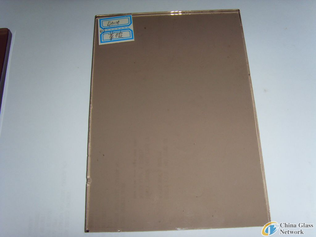 bronze reflective float glass