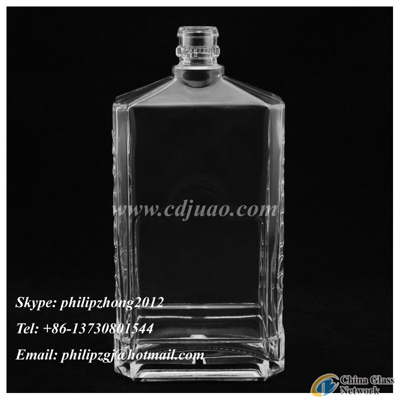 Glass brandy wine bottles wholesale
