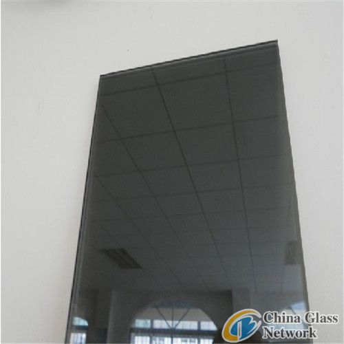 dark grey reflective glass/dark gray coated glass