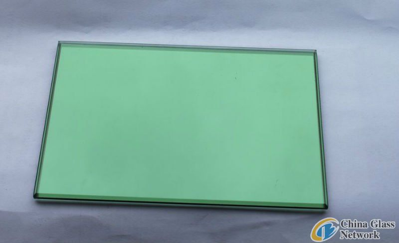 5mm dark green reflective glass/natural green reflective glass