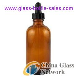 Sell 2oz Amber Boston Round Bottle
