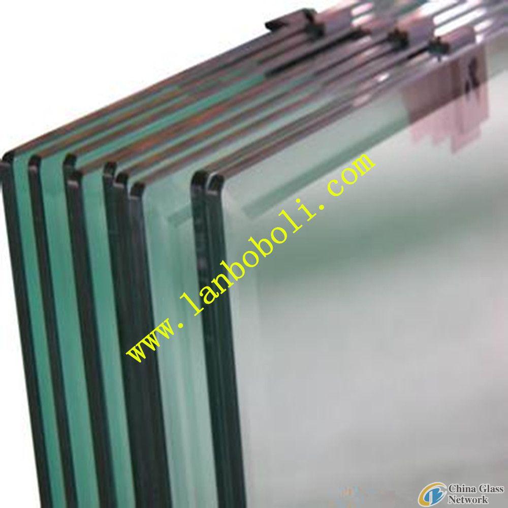 0.38-3.40mm PVB Laminated Glass