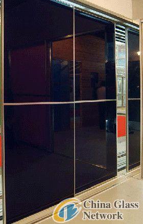 Best black glass sliding door