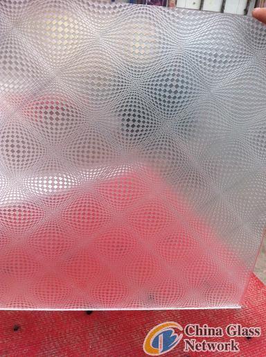 TechHi acid etched glass