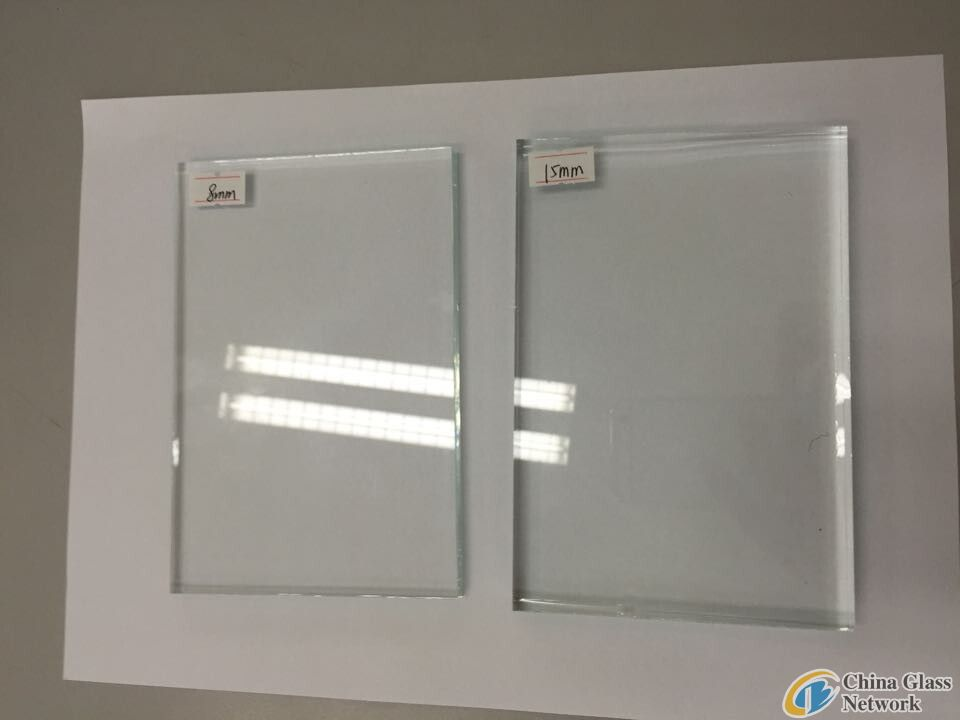 EXTRA CLEAR FLOAT GLASS WITH BLUISH EDGE
