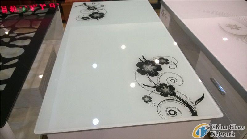 silk printing tabe glass