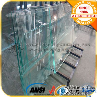 12.76mm laminated glass for glass canopy