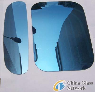 5mm dark reflective glass