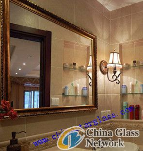 3.5mm copper free silver coating mirror glass