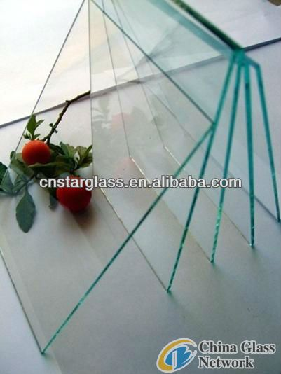 5mm Building Clear Float Glass, Mirror glass Factory with CE ISO 9001