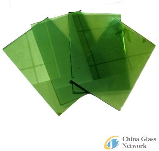 Dark Green Reflective Glass of High Quality