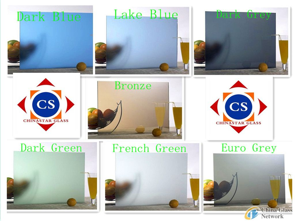 High Quality Colored Tinted Float Glass Manufacture With CE&ISO certificate