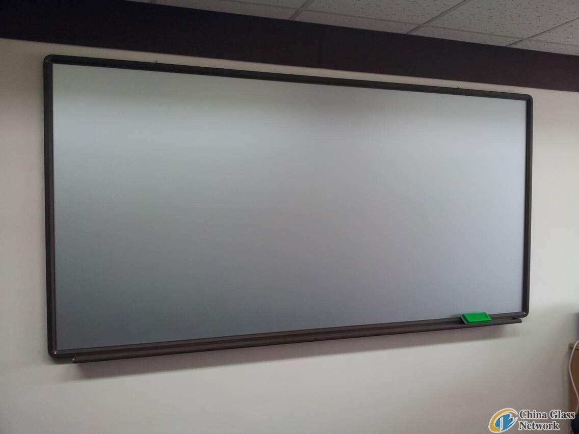 6mm clear coated writing board glass