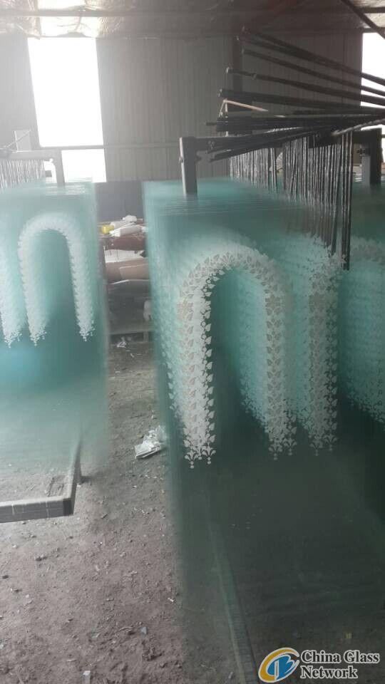 2.0mm Clear Flower Design Mirror