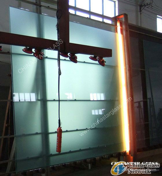 2mm to 19mm higah quality acid etched glass