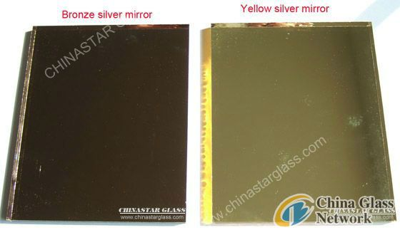 Bronze Silver mirror