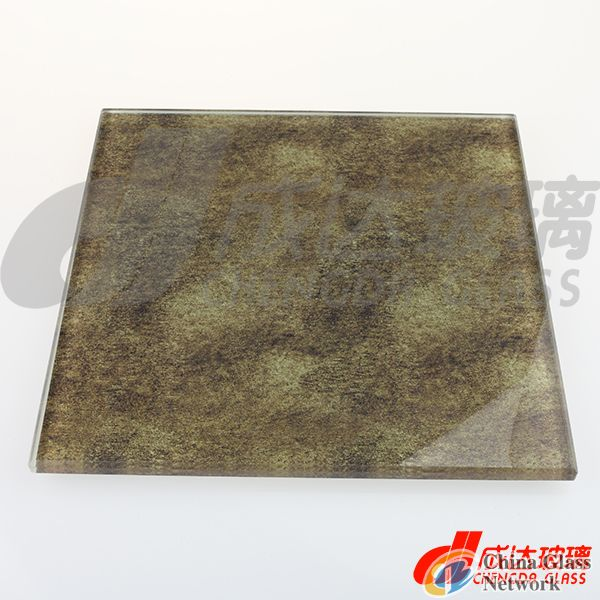 Marble Look Decorative Glass
